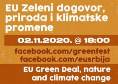 Green Fest panel – EU Green Deal, Nature and Climate Change