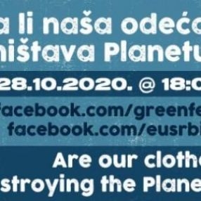 Green Fest panel - Are our clothes destroying the Planet?